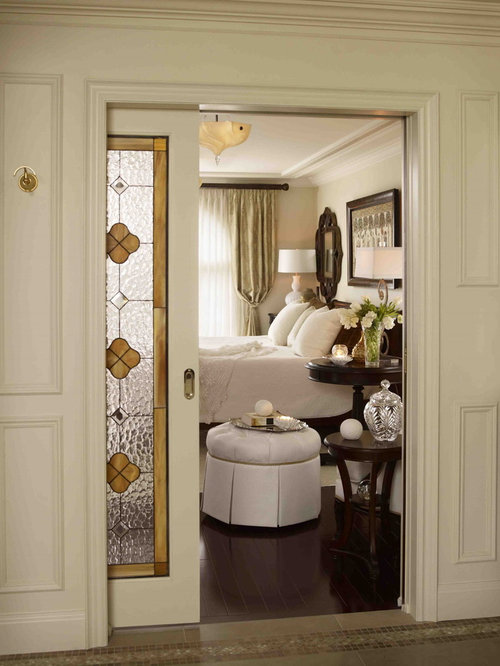 houzz  door stained glass bedroom design ideas  remodel pictures, Bedroom decor