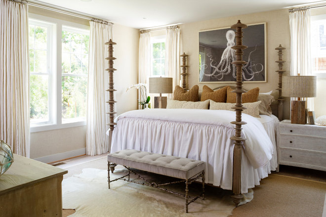 Beach Style Bedroom by OPaL, LLC
