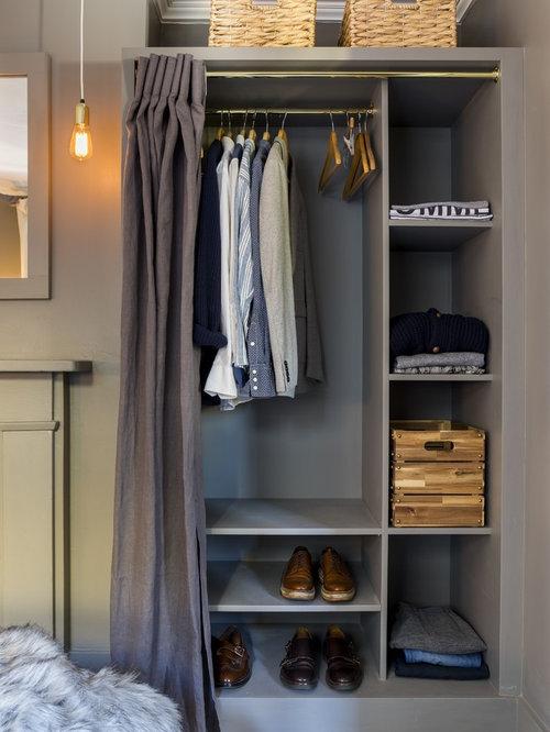 Chambre d 39 amis contemporaine avec un manteau de chemin e for Taille moyenne chambre
