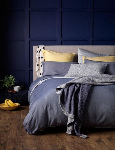 Transitional Bedroom by Secret Linen Store