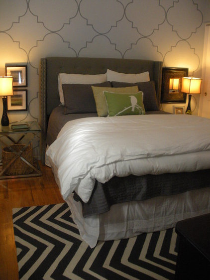Contemporary Bedroom by Janeane Pittman Interior Design