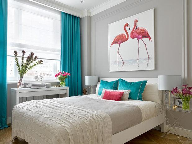 Современный Спальня by Victoria Vlasova Interiors