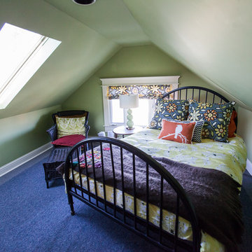 Remodeled 3rd floor attic space