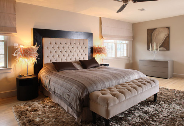 Contemporary Bedroom by NF interiors