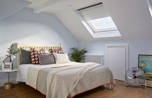Transitional Bedroom by Hampstead Design Hub