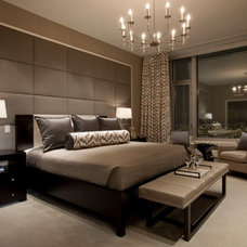Contemporary Bedroom by Design By Kimberly Vaughan