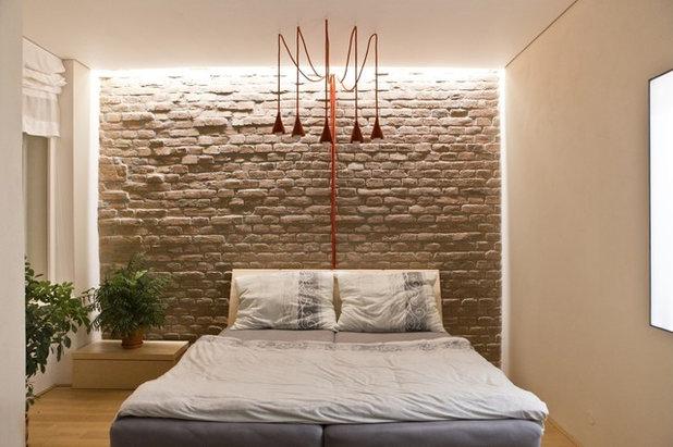 8 trucchi per far sembrare pi ampia la camera da letto - Bagiu per camera da letto ...