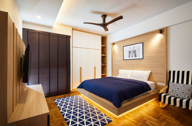 Contemporary Bedroom by The Local INN.terior Pte. Ltd.