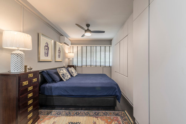 Asian Bedroom by Fifth Avenue Interior