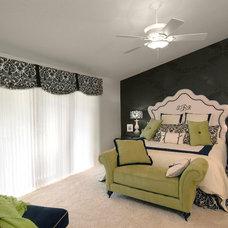 Contemporary Bedroom by BlueStone Interiors