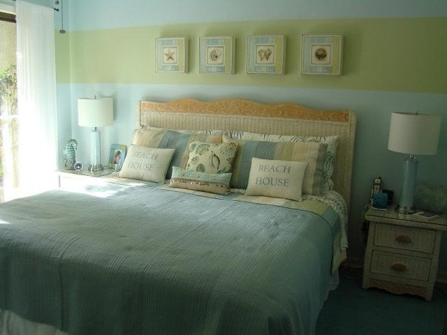 Tropical Bedroom by Ash Tree Design