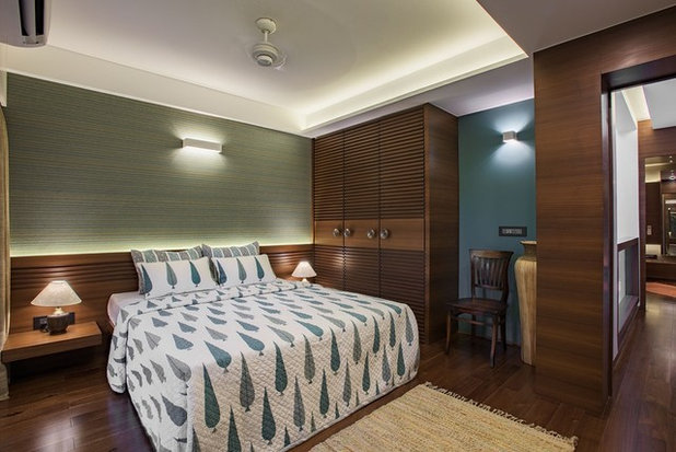 Contemporary Bedroom by Hemant Patil Photography