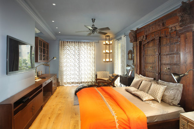 Eclectic Bedroom by Group DCA
