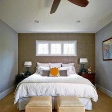 Modern Bedroom by Jacy Painter Kelly