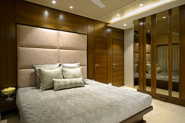 Contemporary Bedroom by Contours The Design Company