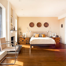 Contemporary Bedroom by Anthony Lindsey Photography