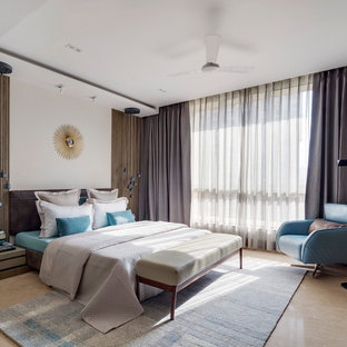 Example Of A Minimalist Bedroom Design In Mumbai
