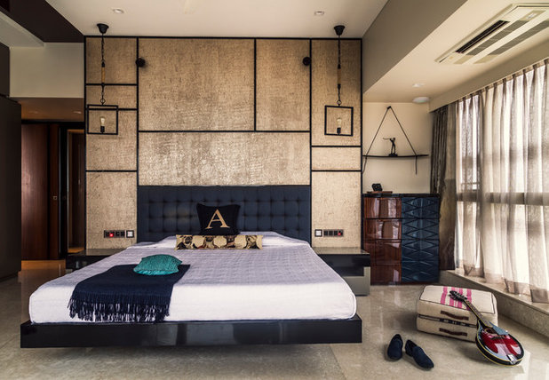 Contemporary Bedroom by Baldiwala Associates