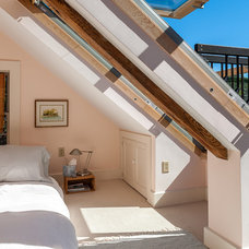 Transitional Bedroom by Joel Gross Architectural & Residential Photography