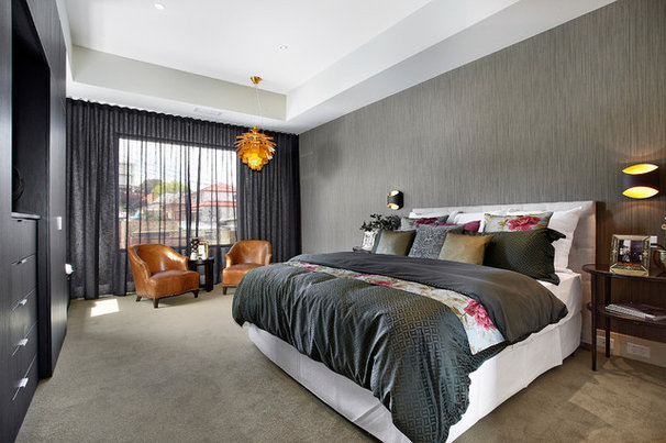 Contemporary Bedroom by Bagnato Architects