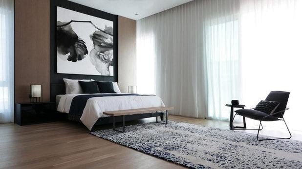 Contemporary Bedroom by Interior Design Confederation Singapore