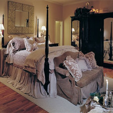 Eclectic Bedroom by InteriorSpaces