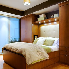 Modern Bedroom by Andrew Ross Photography