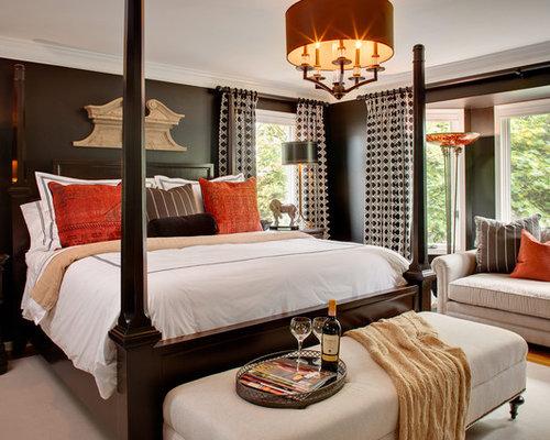 Espresso Bedroom Houzz