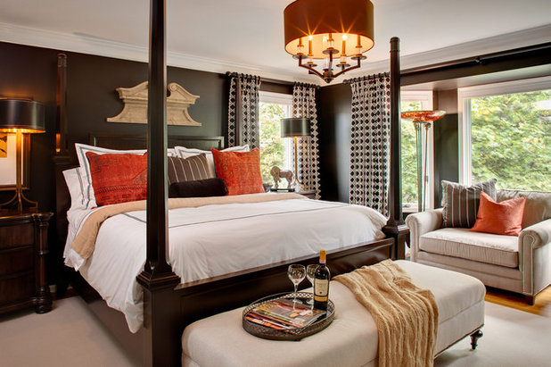 Contemporary Bedroom by Chad Jackson Photography