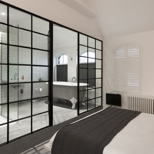 Photo of an industrial bedroom in London.