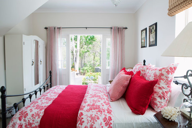 Beach Style Bedroom by Jitta Jack Interior Decorating & Property Styling