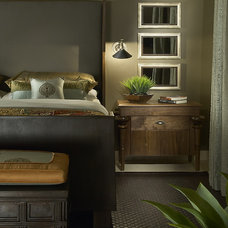 Eclectic Bedroom by Ownby Design