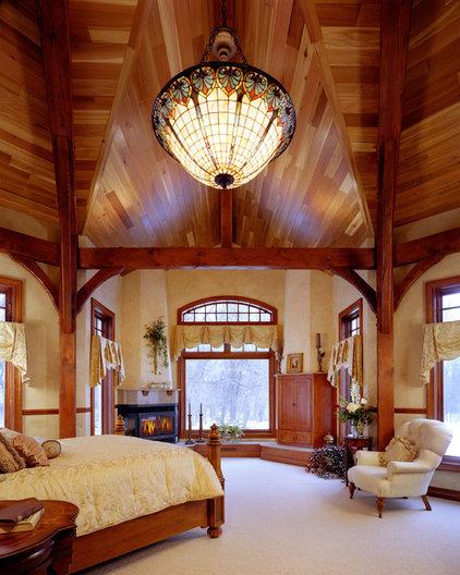 Traditional Bedroom by Bouril Design Studio, LLC