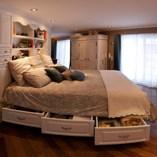 Traditional Bedroom by C.Leblanc Design