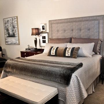 Restful and Elegant Master Bedroom