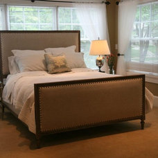 traditional bedroom by Designing the Senses with Cindy Montgomery