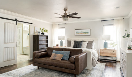 Soothing, Restful Master Bedroom That Functions Well
