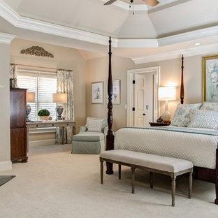 Elegant bedroom photo in Atlanta