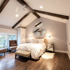 Eclectic Bedroom by Hyland Homes