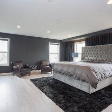Contemporary Bedroom by Restoration Development, LLC