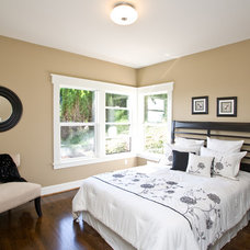 Transitional Bedroom by Portland Development Group