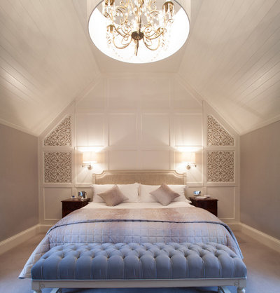 Traditional Bedroom by Des Ewing Residential Architects