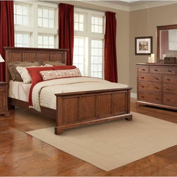 Cresent Fine Furniture - Retreat Cherry Panel Bed Multicolor - CREN096 - Shop for Beds from Hayneedle.com! The Retreat Cherry Panel Bed is the distinguished centerpiece of Cresent Fine Furniture s Retreat Cherry collection an elegant ensemble featuring traditional American furniture designs gracefully updated for contemporary tastes. Hand-selected solid Appalachian black cherry wood is given a 14-step hand-applied clear cherry finish that shows off its cathedral grain to splendid visual effect giving a lustrous richly detailed appearance to this panel bed s headboard and footboard. This bed is available in full/double queen king and California king sizes with the additional option of a storage drawer-equipped footboard in both the queen and king sizes.About Cresent Fine FurnitureBased in Gallatin Tennessee Cresent Fine Furniture was founded in 1947 with a mission of creating solid wood furniture that meets a higher level of craftsmanship. The same families that founded and managed Cresent from the beginning are now in their third generation of business. Cresent is fully committed to providing heirloom-quality furniture using traditional woodworking techniques and the finest solid wood species including sustainably harvested American hardwoods. Inspired by traditional country neo-classical and contemporary design Cresent s furniture collections provide exceptional beauty strength and longevity for today s quality-conscious shoppers.