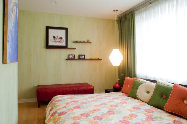 Eclectic Bedroom Retro Bedroom