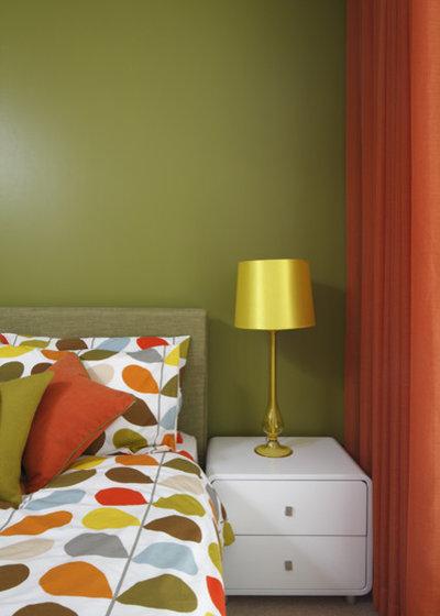 Moderne Chambre by Adrienne Chinn Design