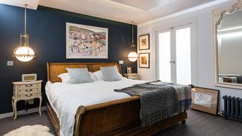 Retrofit Basement Master Bedroom