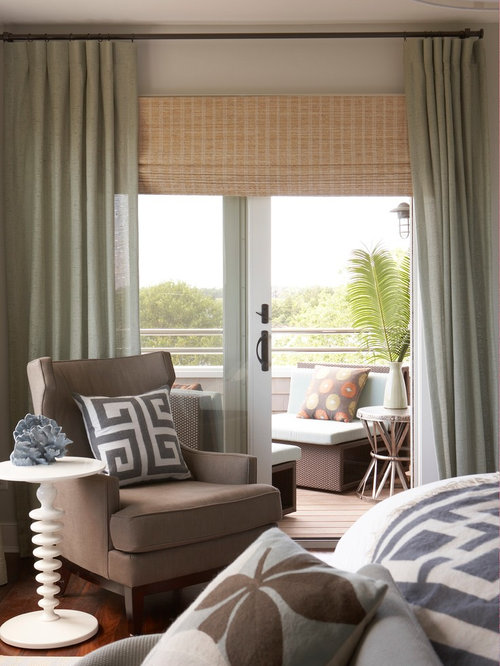 Sliding Door Curtain Houzz