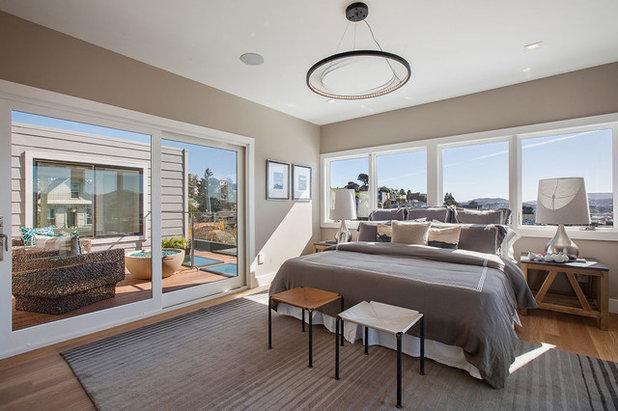 Transitional Bedroom by TARA BAKER