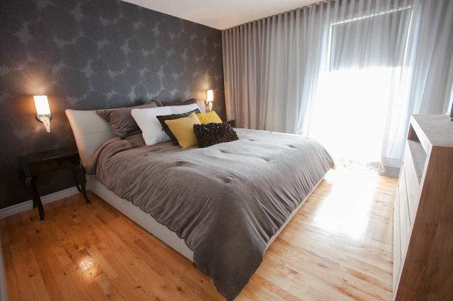 Contemporary Bedroom by N Design Interieur