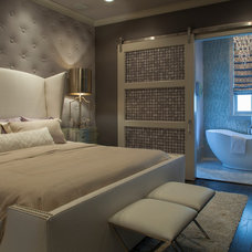 Transitional Bedroom by Geoff Chick & Associates